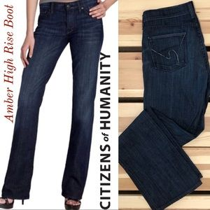 Citizens of Humanity Amber High Rise Bootcut Dark